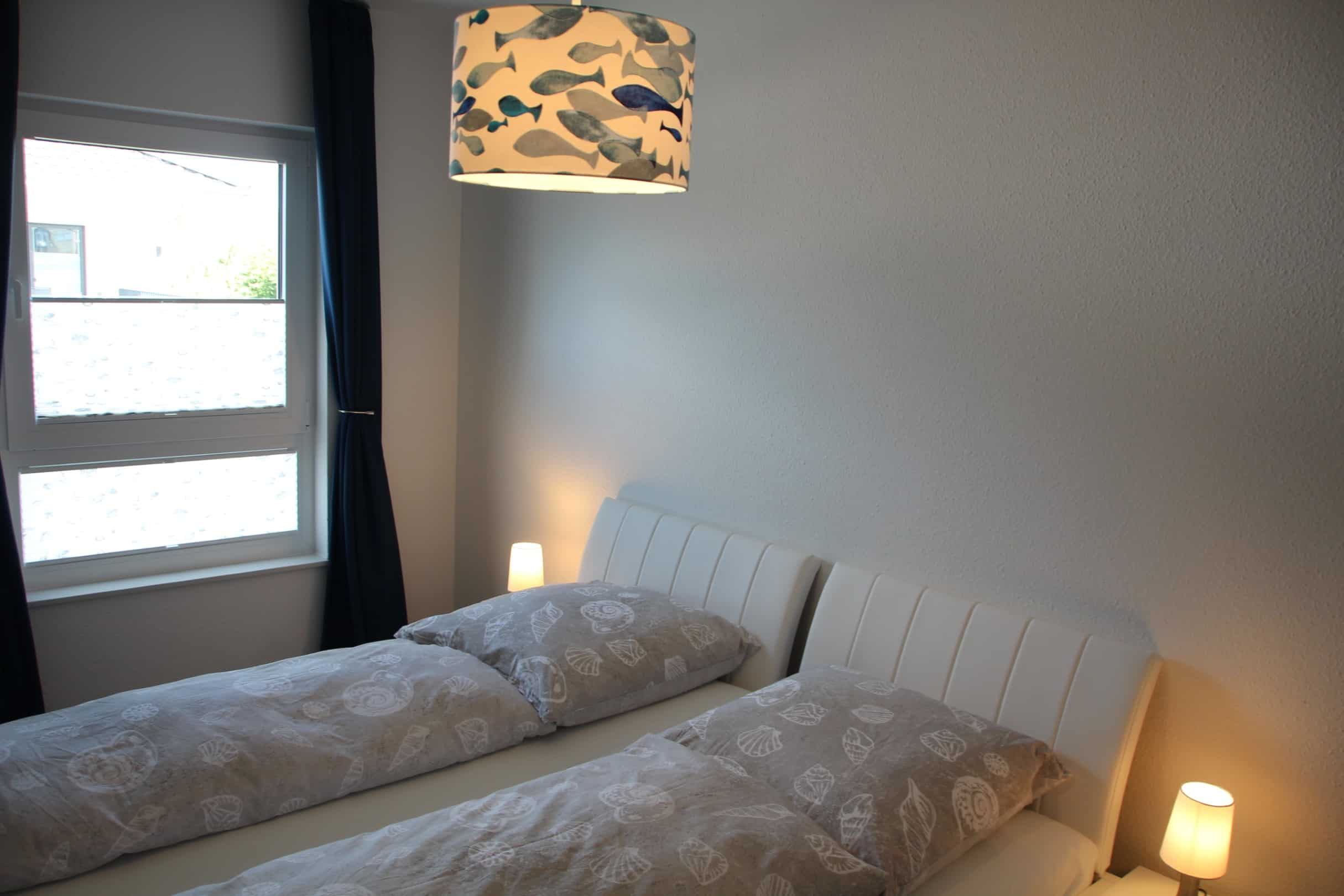Einzelbetten im zweiten Schlafzimmer